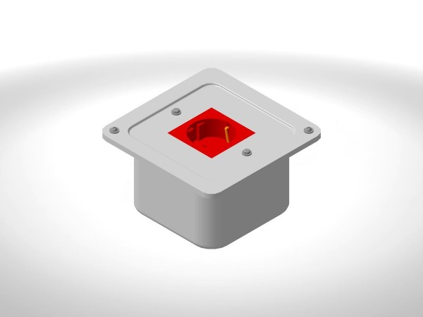 Коробка с розеткой КР2-16