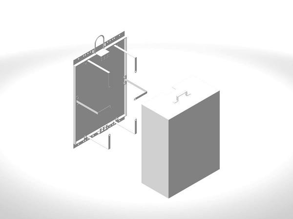 Шкаф монтажный ШРМ-3-2